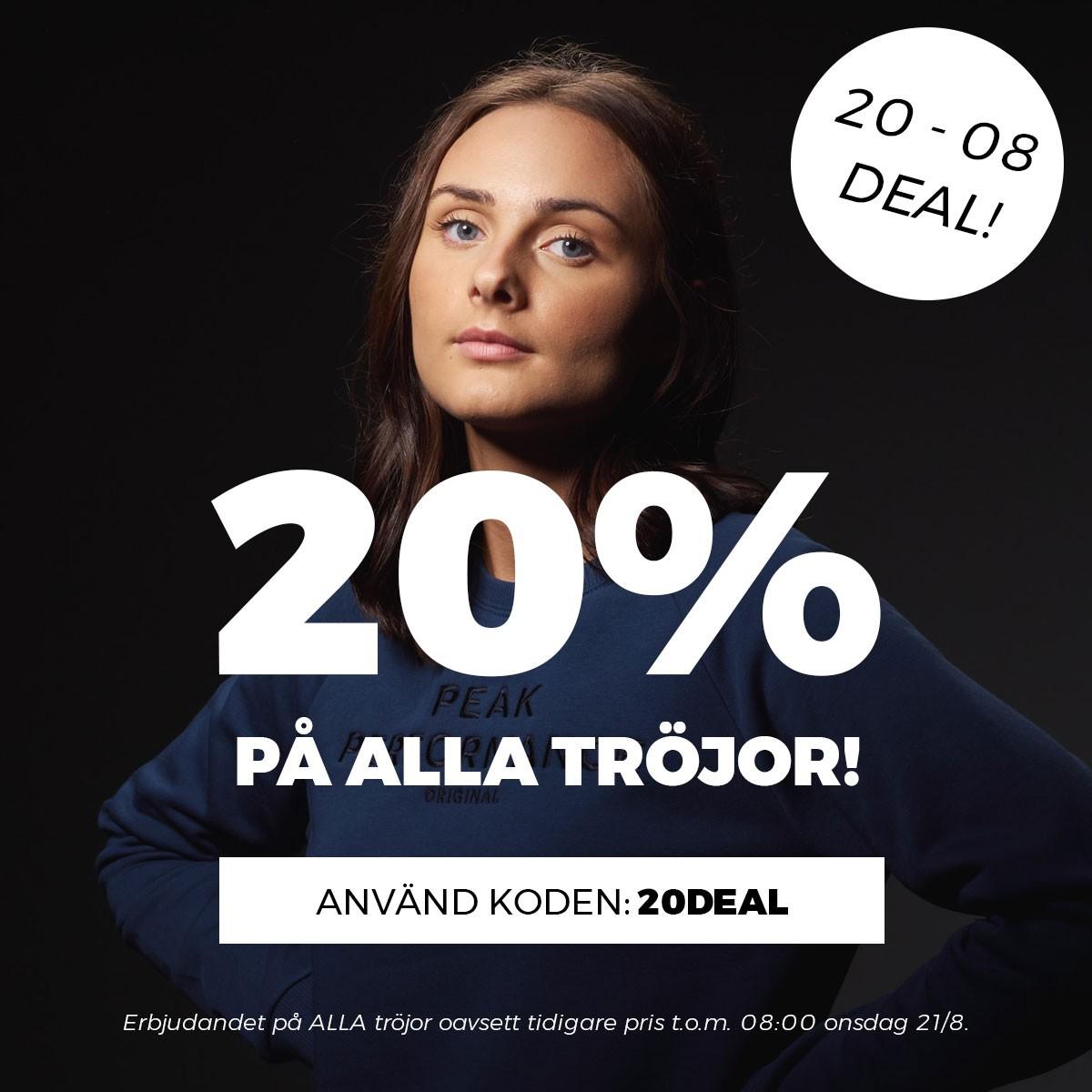 ÅTTA TILL ÅTTA - TRÖJOR