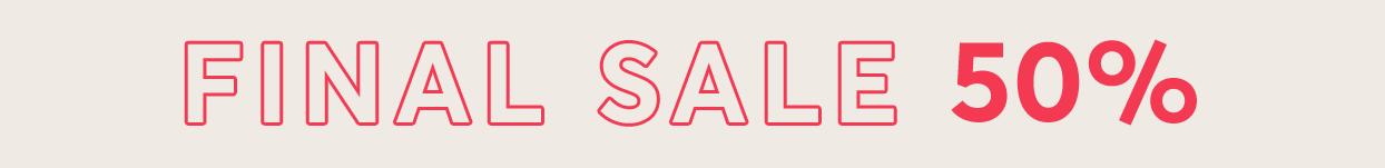Produktfilter Final Sale