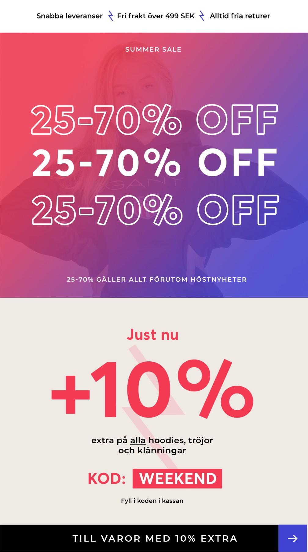 10% EXTRA