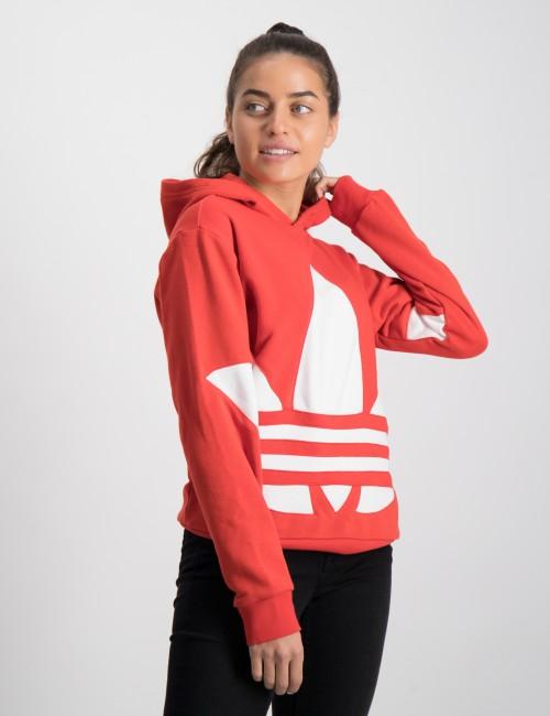 Om Bg Trefoil Hood Röd från Adidas Originals   KidsBrandStore