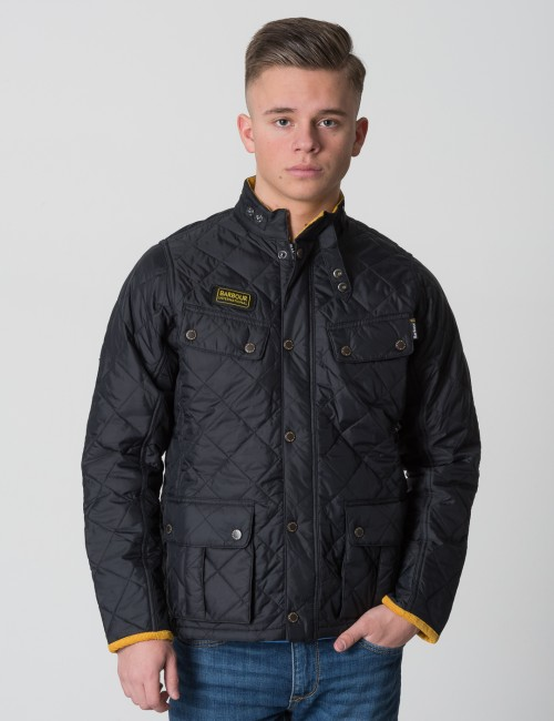 Barbour - Boys Quilted Ariel
