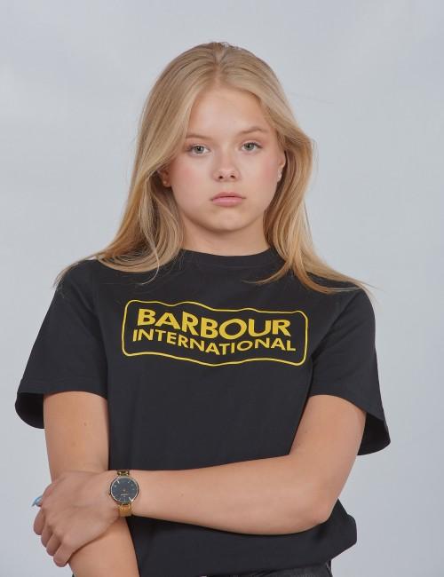 Barbour barnkläder - Ess L Logo Te