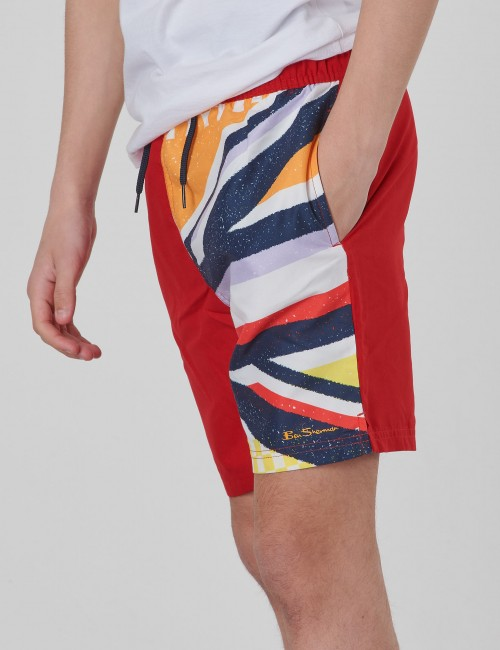 Union Jack Sliced Swim