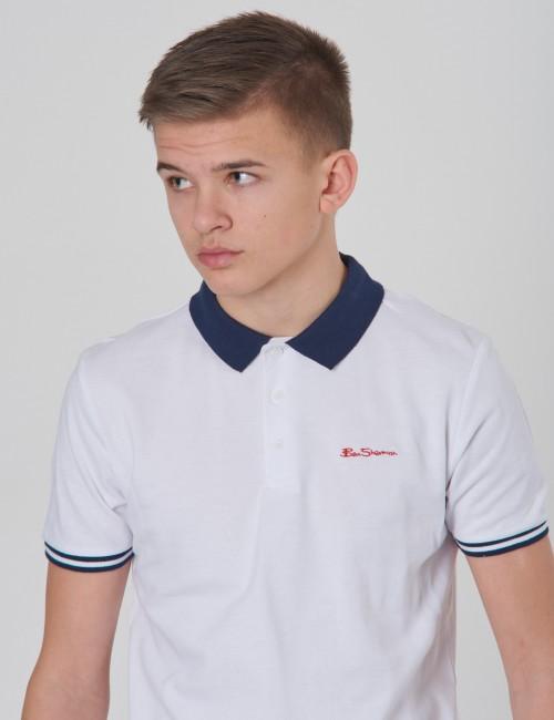 Collar Print Polo