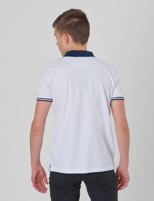 Ben Sherman barnkläder - Collar Print Polo