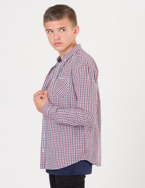 Ben Sherman barnkläder - LS House Check Poplin Shirt