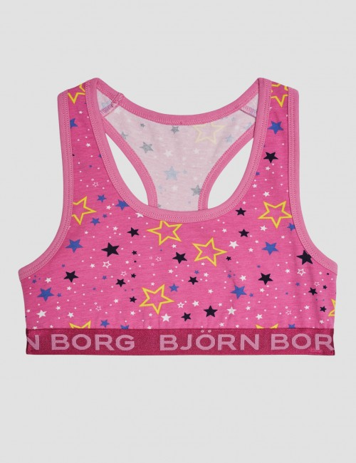 Björn Borg barnkläder - SOFT TOP SOFI GRAPHIC STAR