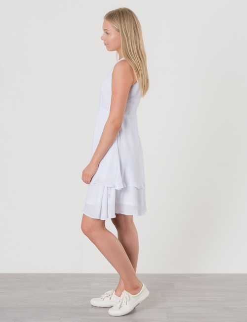 b2c37cdb0393 Om Alicia Dress - Vit från By Jeppson | KidsBrandStore