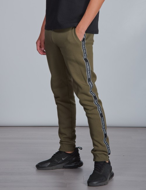 Calvin Klein - SIDE LOGO TAPE SWEATPANTS