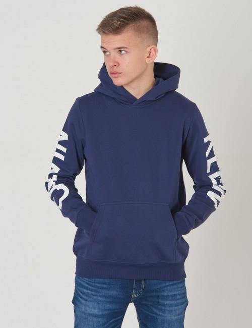 Calvin Klein barnkläder - LOGO SLEEVES BRUSHED