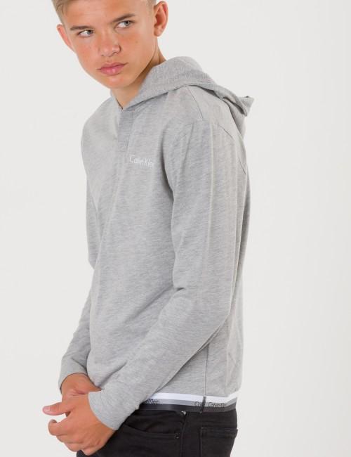 Calvin Klein barnkläder - PULL OVER HOODIE
