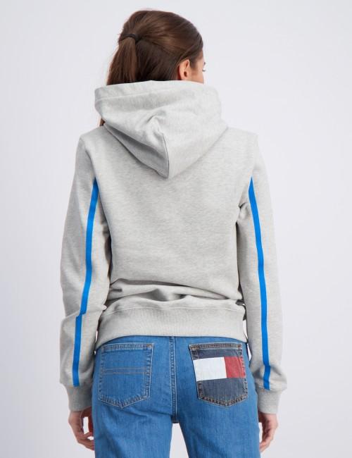 Calvin Klein barnkläder - MONOGRAM STRIPE HOODIE
