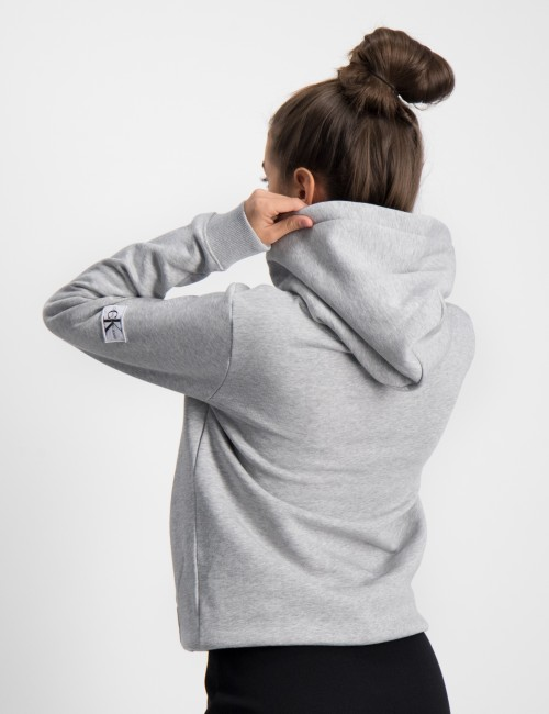 Calvin Klein barnkläder - MONOGRAM SLEEVE HOODIE
