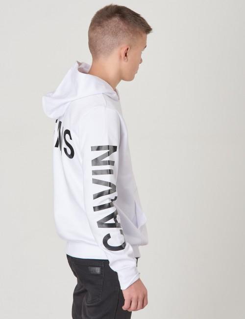 Calvin Klein - LOGO SLEEVES BRUSHED