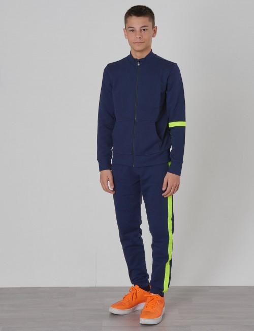 Calvin Klein - NEON TAPE ZIP TERRY JACKET