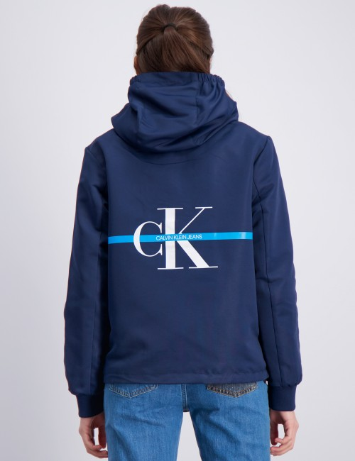 Calvin Klein barnkläder - MONOGRAM STRIPE JACKET