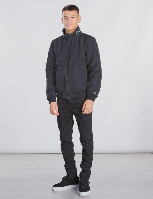 Calvin Klein barnkläder - LOGO BOMBER JACKET