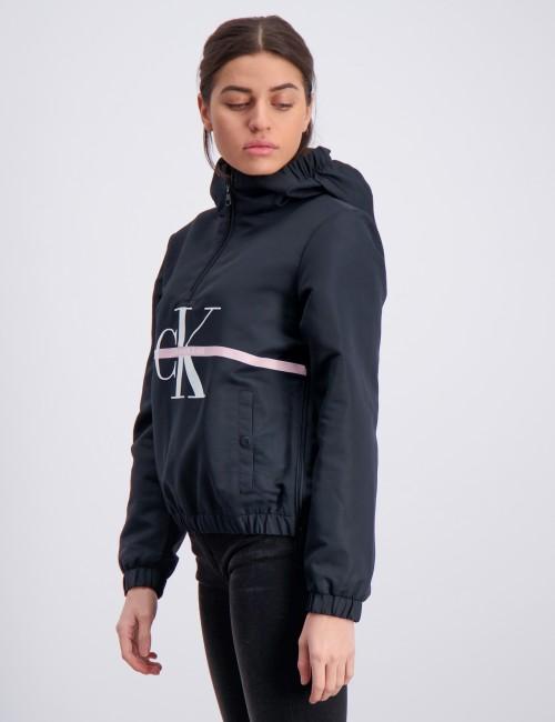 Calvin Klein - MONOGRAM STRIPE POPOVER
