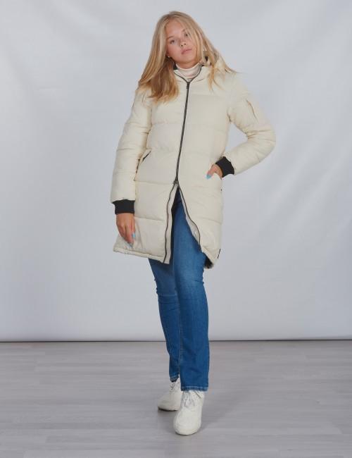 Calvin Klein barnkläder - ESSENTIAL PUFFER LONG JACKET