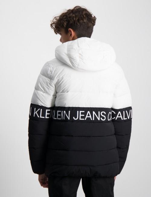 Calvin Klein barnkläder - STRETCH COLOUR BLOCK JACKET