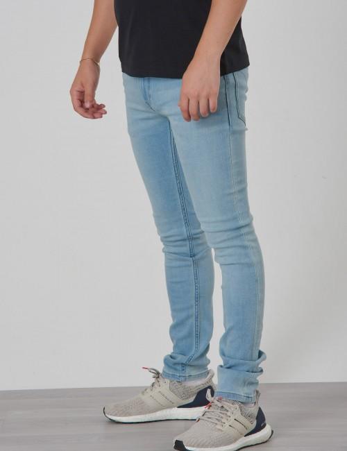 Calvin Klein barnkläder - SKINNY VALE LIGHT BLUE STR