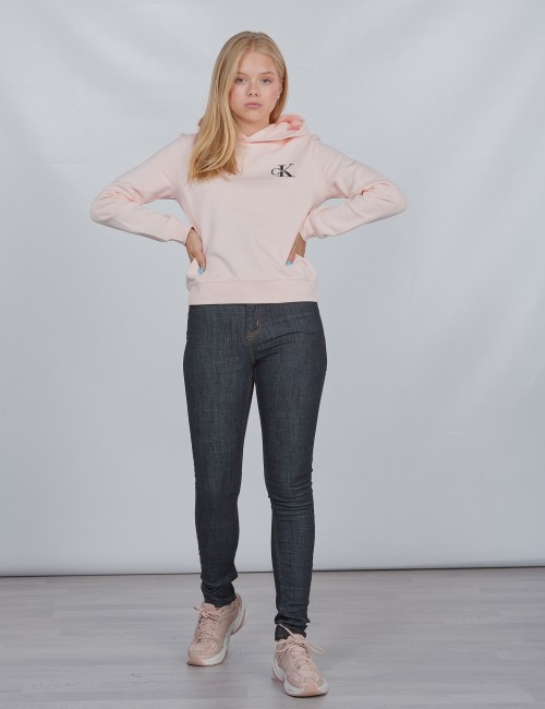Calvin Klein barnkläder - SKINNY HR ESSENTIAL RINSE STR