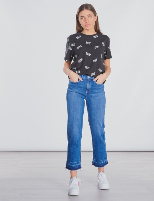 Calvin Klein - STRAIGHT HR CROP DEEP