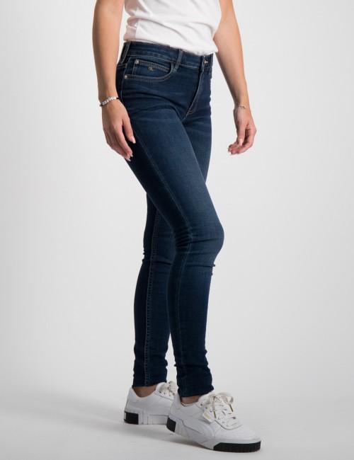 Calvin Klein barnkläder - SUPER SKINNY MR ESS DARK BL STR