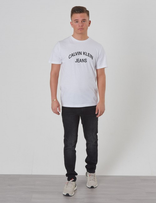 Calvin Klein barnkläder - TAPERED CITY BLACK STR