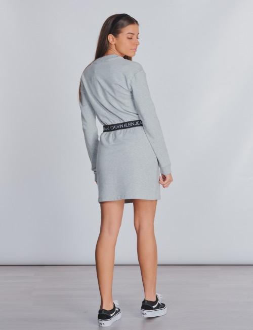 Calvin Klein barnkläder - LOGO WAISTBAND DRESS