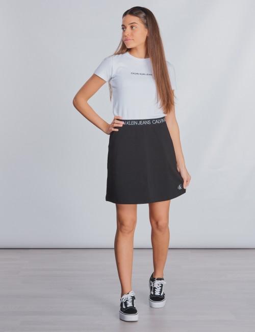 Calvin Klein barnkläder - LOGO WAISTBAND SKIRT