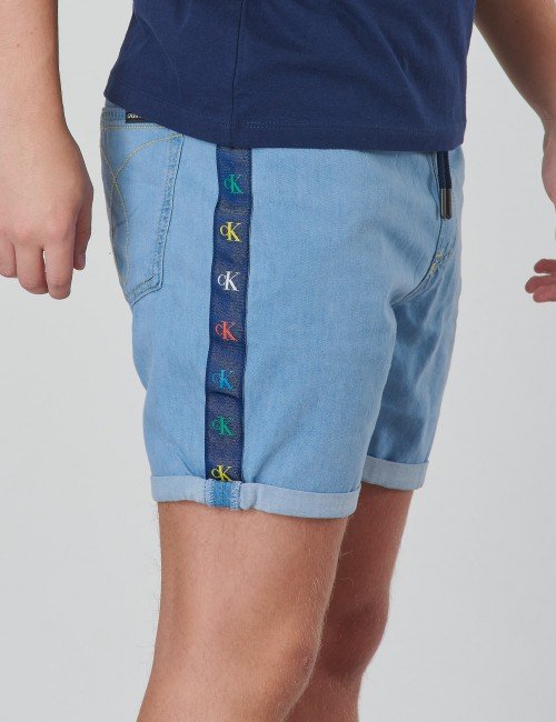 MONOGRAM SHORT Boy MID BLUE