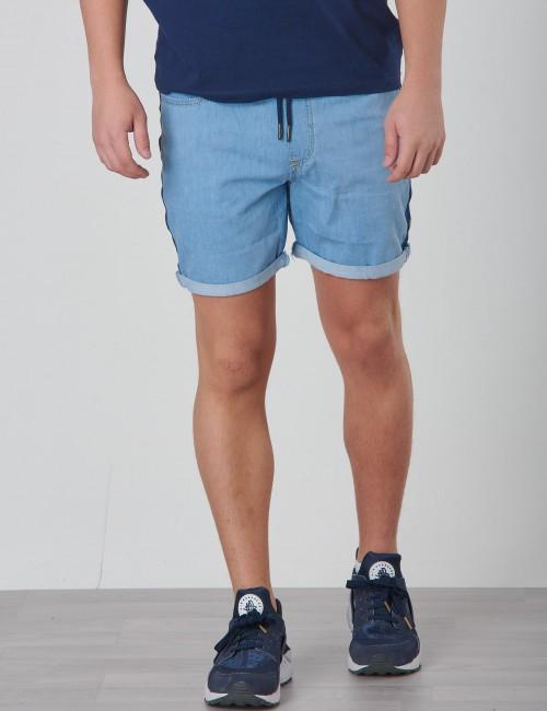 Calvin Klein barnkläder - MONOGRAM SHORT Boy MID BLUE