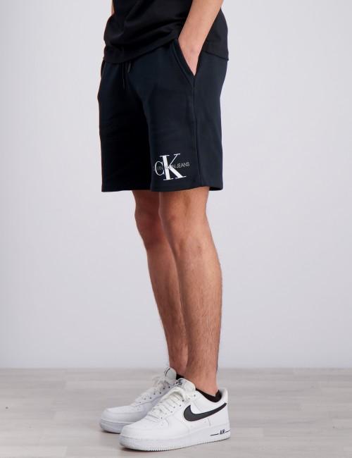 Calvin Klein barnkläder - MONOGRAM SWEATSHORT