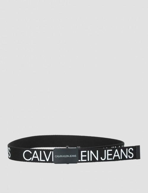 Calvin Klein barnkläder - CANVAS LOGO BELT
