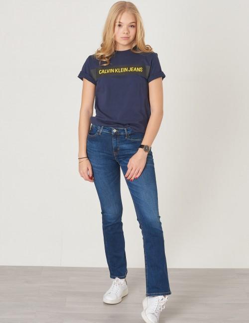 Calvin Klein barnkläder - BOX LOGO REGULAR TEE