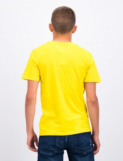 Calvin Klein barnkläder - MONOGRAM POCKET TOP