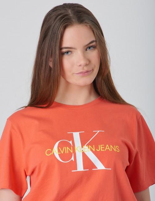 Calvin Klein barnkläder - MONOGRAM OCO REGULAR TEE
