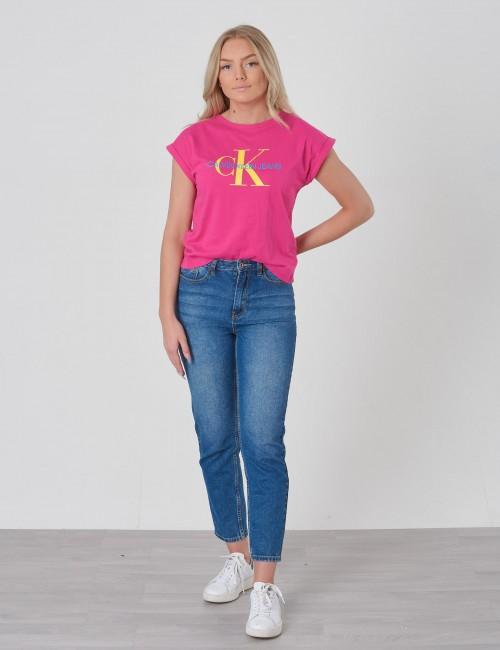 Calvin Klein barnkläder - MONOGRAM LOOSE FIT TEE