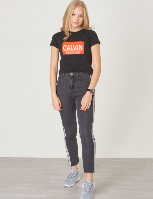Calvin Klein - BOX LOGO SLIM TEE