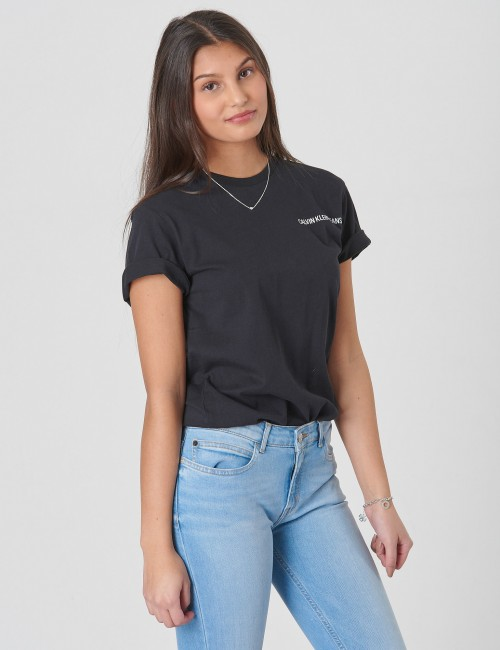 Calvin Klein barnkläder - CHEST LOGO REGULAR TEE