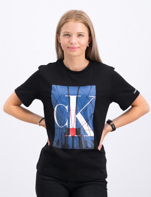 Calvin Klein barnkläder - MONOGRAM CITY T-SHIRT