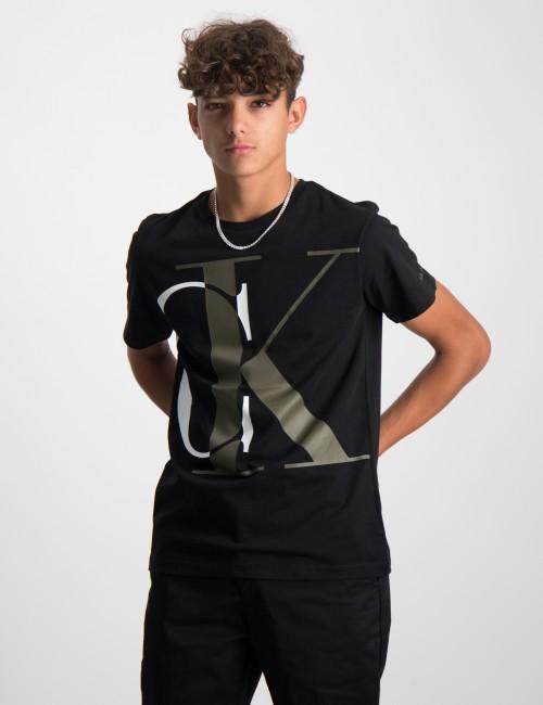 Calvin Klein barnkläder - EXPLODED MONOGRAM T-SHIRT