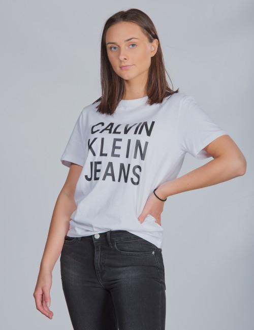 Calvin Klein barnkläder - CKJ LOGO SS T-SHIRT