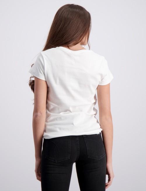 Calvin Klein barnkläder - CK ONE SS RIB TOP