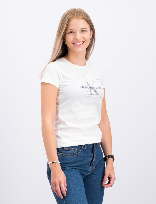 Calvin Klein barnkläder - SMALL MONOGRAM BOX T-SHIRT