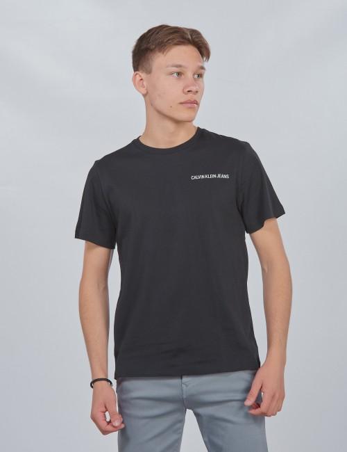 Calvin Klein barnkläder - CHEST LOGO REGULAR TOP