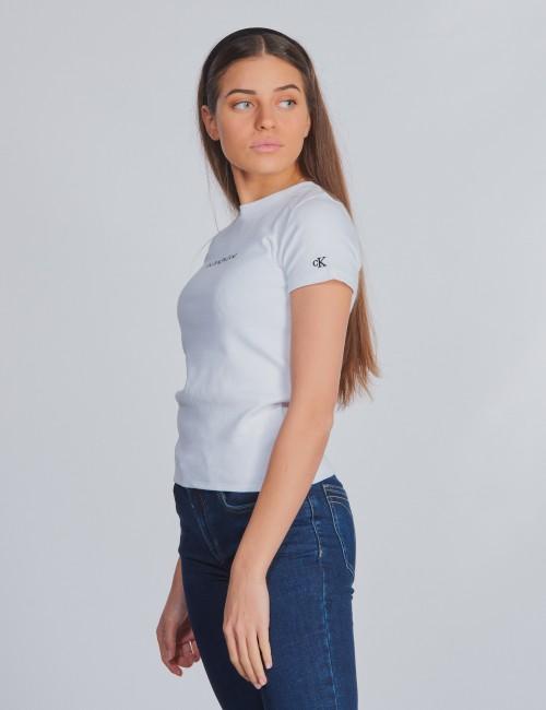 Calvin Klein barnkläder - RIB SS TOP