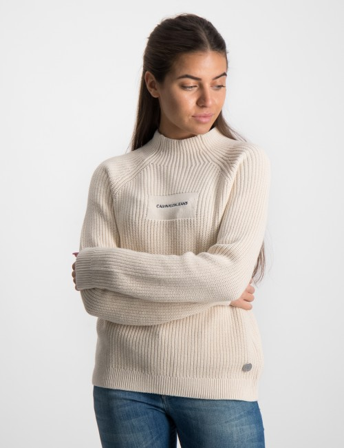 OCO MOCK NECK BOXY SWEATER