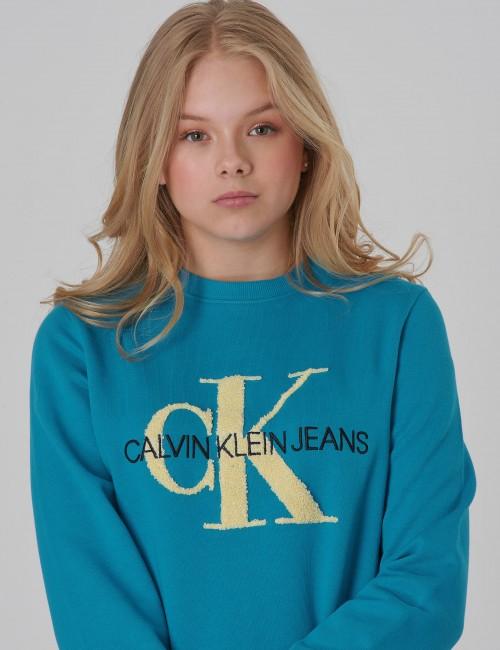 Calvin Klein - MONOGRAM TERRY SWEATSHIRT Girl
